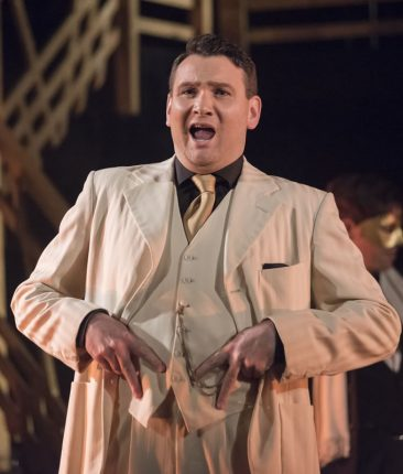 Duke, Rigoletto, Longborough Festival Opera, 2015 (pic Matthew Williams-Ellis)